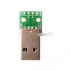 5db USB-DIP adapter-átalakító 4 db 2,54 mm-es PCB kártya tápegységhez