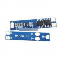 2S 5A 7.4V 8.4V Li-ion lítium akkumulátor 18650 Töltővédő kártya pad modul