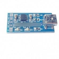 2db TP4056 5V mini USB 1A lítium akkumulátor töltő kártya töltőmodul 4V-8V