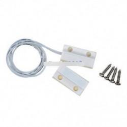 1Pair White MC-38 vezetékes ajtó ablak érzékelő mágneses kapcsoló otthoni riasztórendszer