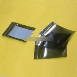 10db 60x90mm 6x9cm műanyag zip zár árnyékolás elleni statikus táska tartók Csomagolás
