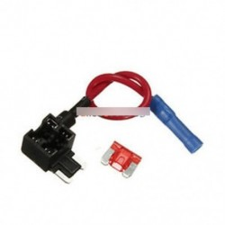 12V-os autós kiegészítő biztosíték TAP adapter Micro ATM APM Auto 10A pengék biztosítéktartó