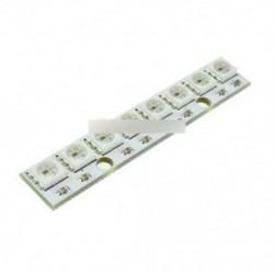 WS2812 WS 2811 5050 RGB LED lámpa panel modul 5V 8 bites szivárvány LED precíz