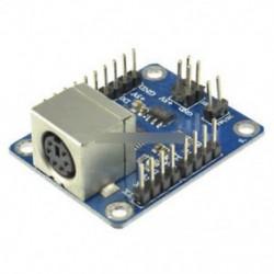 PS2 illesztőprogram-modul - Dual PSX PS1 PS2 női USB csatlakozós adapter átalakító kezelő Arduino-hoz