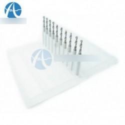 1,0 mm-es Mini Micro Carbide acél gravírozó fúrószerszám PCB Nyomja meg a CNC Dremelt