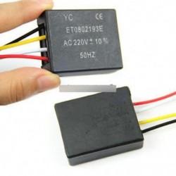 Asztali lámpaelemek Be / ki 1 irányú érintésvezérlő érzékelő izzó lámpa kapcsoló AC 220V