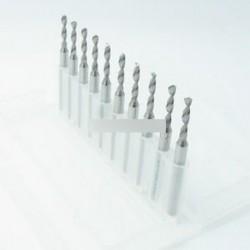 1,5 mm-es Micro Mini Carbide acél gravírozó fúrófúró cső NYÁK Nyomja meg a CNC Dremel-t