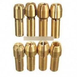 4db rotációs többszörös szerszámos csavaranyák készlet Mill / 0.8 / 1.6 / 2.35 / 3.2MM