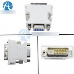 15 érintkezős VGA nő 24   1 tűs DVI-D férfi adapter videó konvertáló PC laptophoz