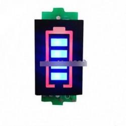 1S 3.7V lítium akkumulátor kapacitásjelző 4.2V kék Dispaly teljesítménymérő egyetlen
