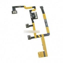 Bekapcsoló gomb Be / Ki hangerő-szabályozó Rugalmas szalagszalag-rész Apple Ipad-hoz 2