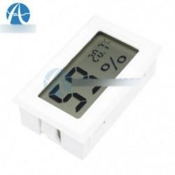 Mini digitális LCD beltéri hőmérséklet páratartalom mérő hőmérő
