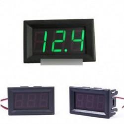 """0,56 """"DC4.7-30V feszültségmérő LED panel Digitális kijelző feszültségmérő zöld"""