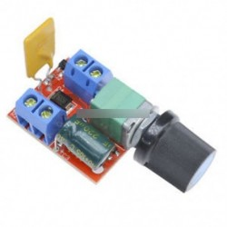 Mini DC 5A motor PWM fordulatszám-szabályozó 3-35V fordulatszám-szabályozó kapcsoló LED Dimmer