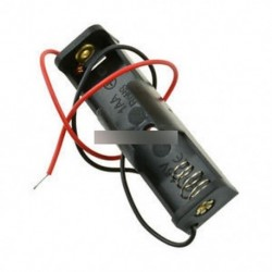 10db műanyag akkumulátor tároló doboz doboz tartó AA huzalvezetékekkel