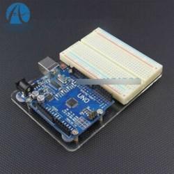 Univerzális kísérleti platform átlátszó tiszta akril panel UNO Arduino