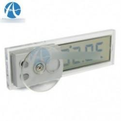 Gépkocsi-nézet tükör szívócsésze Digitális LCD hőmérséklet-hőmérő