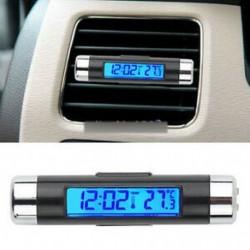 2. stílus - Digitális LED autós kültéri hőmérő W / érzékelő hőmérséklet LCD kijelző