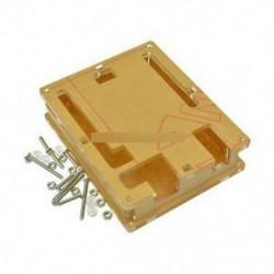 Tiszta akril doboz doboz átlátszó tok Shell F Arduino Uno R3 kártya modul
