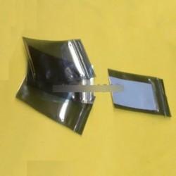50db 60x90mm 6x9cm anti-statikus zsák műanyag zip zár árnyékoló tartók csomagolás