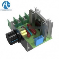 220V 2000W fordulatszám-szabályozó SCR feszültségszabályozó Dimmer-szabályozó termosztát