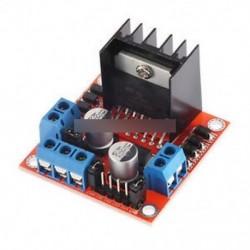 L298N léptetőmotor meghajtó vezérlőpanel modul Dual H híd DC Arduino