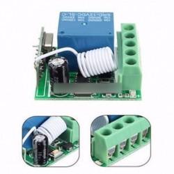 433MHZ DC12V 10A 1CH vezeték nélküli relé RF távirányító kapcsoló vevő