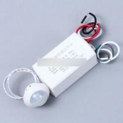 4 Wire 220V 50HZ infravörös testérzékelő intelligens fénymozgás vezérlő kapcsoló