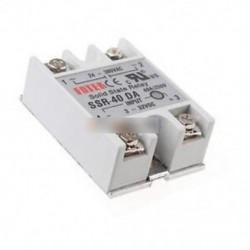 10PCS 24V-380V 40A 250V SSR-40 DA Solid State Relay modul 3-32V DC-től AC-ig