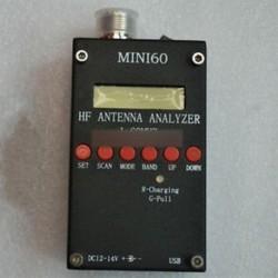 SARK100 Mini60 HF ANT SWR Antennaelemző mérő 1-60Mhz Ham Rádióhoz