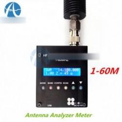 MR300 digitális rövidhullámú antennanalizátor mérőeszköz 1-60M Ham Ham Radio-ra