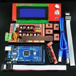 3D nyomtatókészlet RAMPS 1.4   Mega 2560   5db A4988   LCD 2004 RepRap Prusa i3