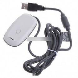 Vezeték nélküli USB 2.0 Gaming Receiver-Controller Adapter PC Xbox 360 fehér / fekete