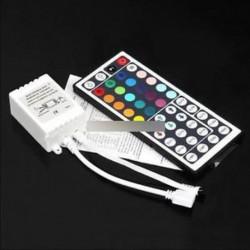 44 Key IR távirányító Dimmer 12V 5050 3528 SMD RGB LED szalagcsíkhoz
