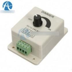 12V 8A PIR érzékelő LED csík fénykapcsoló Dimmer fényerő szabályozó energiatakarékos