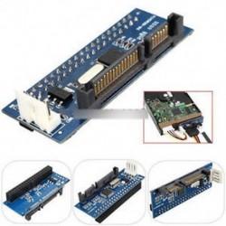 40 Pin IDE nő A SATA 22-pólusú ATA adapterrel a soros SATA kártya átalakító