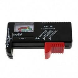 AA / AAA / C / D / 9V / 1,5V univerzális gombcellás akkumulátor-feszültségmérő BT-168