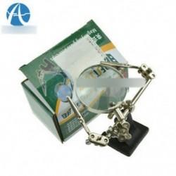 Kézi tartó / rögzített polc BEST-168Z BEST168Z 5x többszörös nagyító üvegcsillag 2 LED