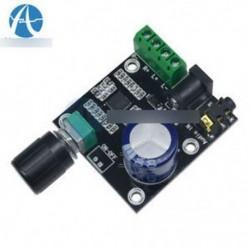 Super Slim 2 x15W PAM8610 D osztályú digitális Dual Power Audio erősítő panel 12V
