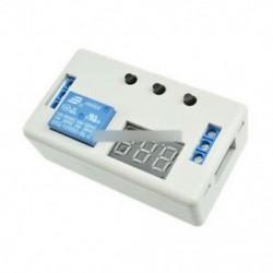 6. stílus - 12V LED kijelző késleltetés időzítő vezérlő kapcsoló hangjelző modul 2/3 pozíció   tok