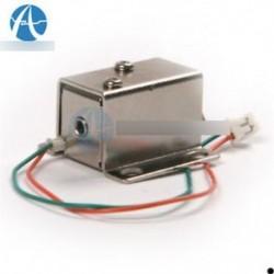 DC 12V elektromos mágnesszelep zárónyílás felfelé szerelés az ajtószekrény fiókjára