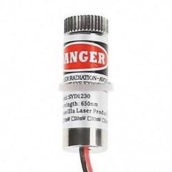 2PCS 650nm 5mW piros lézervonal modul fókuszban állítható lézerfej 5V lézer modul
