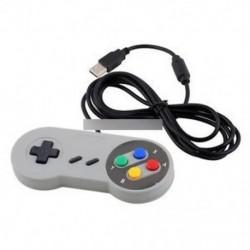 Super Nintendo SNES USB GAME vezérlő Gamepad Joypad PC Mac Windows PAD-hoz