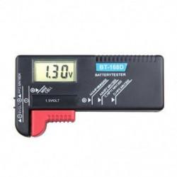 Hasznos digitális LCD BT-168D PP3 6F22 alkáli 9V AAA AA akkumulátor tesztelő
