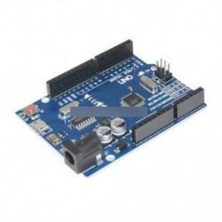 Legújabb verzió Arduino UNO R3 ATMEGA328P-16AU CH340G Micro USB kártya