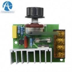 4000W 220V AC SCR feszültségszabályozó Dimmer termosztát elektromos motorvezérlő