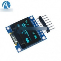 "0.96 &quot kék OLED - 0,95 ""/0,96"" 128X64 7pin teljes szín 65K színes SSD1331 SPI OLED LCD LED kijelző"