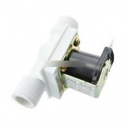 """Mágneses N / C elektromos mágnesszelep vízlevegő bemeneti áramláskapcsoló 1/2 """"N / C AC220V"""