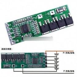 5S 18.5V 21V 10A lítium akkumulátor védelem PCB kártya 18650 Li-ion akkumulátorhoz