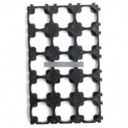 10PCS 3x5 18650 cellaelem távtartó sugárzó Shell műanyag hőhordozó tartó